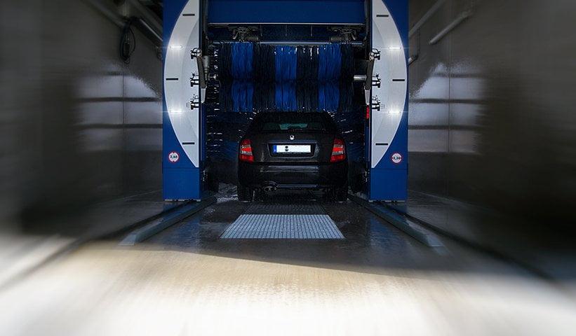 waschpark hantschel portalwaschanlage autowäsche im winter