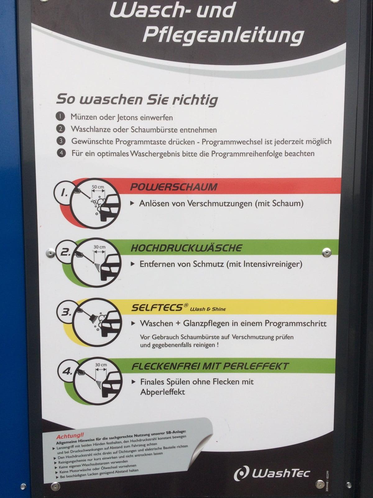 sb wash anleitung