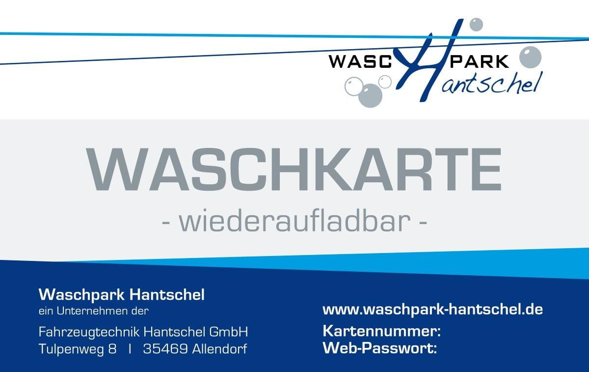waschpark hantschel waschkarte