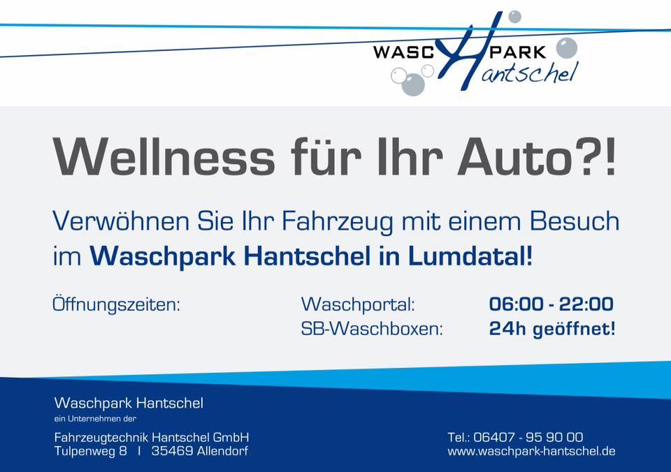 wellness für ihr auto - waschpark hantschel