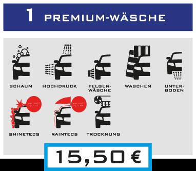 1 Premium-Wäsche