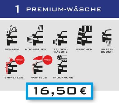 1-Premium-Wäsche