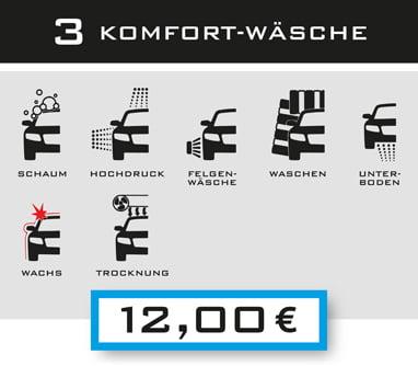 3-Komfort-Wäsche