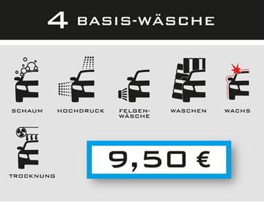 4-Basis-Wäsche