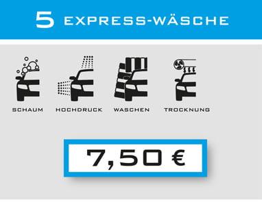 5-Express-Wäsche